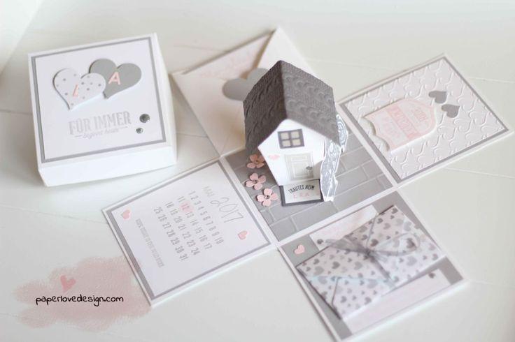 HOCHZEIT – EXPLOSIONSBOX ALS GELDGESCHENK FÜR BIKER – paperlovedesign.com