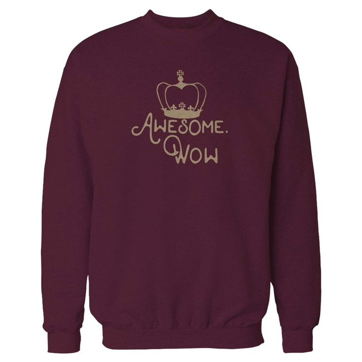 King George Awesome Wow Hamilton Musical Sweatshirt