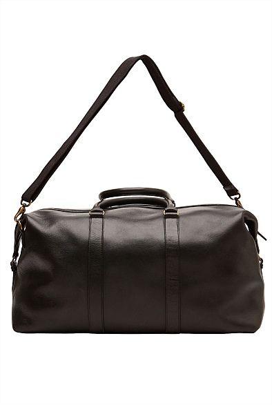 Men's Leather Wallets, Satchels & Cambridge Bags | WitcheryMan - Leather Weekender #witcherywishlist