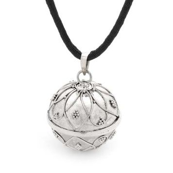 Harmony Ball - WATER LILY - Bella Donna Sterling Silver