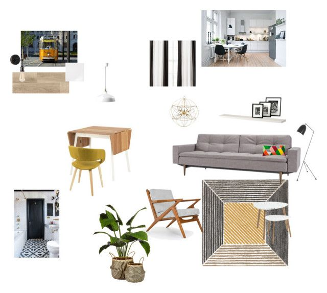 vázlat1 by reka-palyi on Polyvore featuring interior, interiors, interior design, home, home decor, interior decorating, Thrive, Dot & Bo, Murmur and Sixtrees