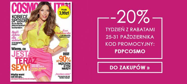 #Cosmopolitan #promocja #rabat