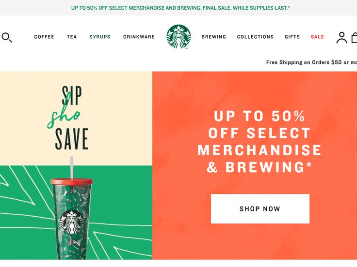 Starbucks is closing its online store as a 'seismic shift' hits the retail industry (SBUX)