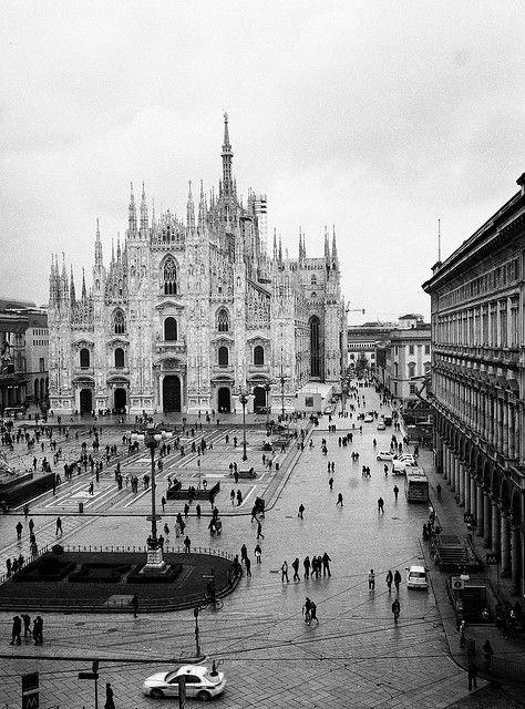 Il Cielo sopra Milano - Piazza del Duomo, Milano, Italy, Europe #Expo2015 #Milan #WorldsFair