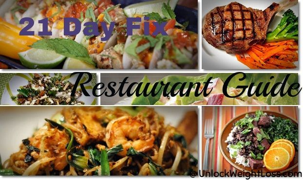 21 Day Fix Restaurant Guide – 14 Tips