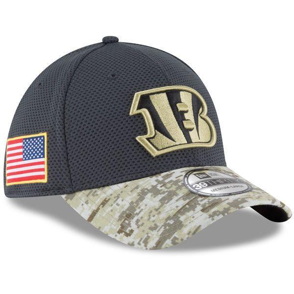 2016 New Era NFL Cincinnati Bengals Salute To Service Camo Hat  39Thirty #NewEra #CincinnatiBengals