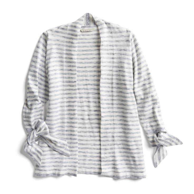 Stitch Fix Spring Stylist Tips: Striped cardigan