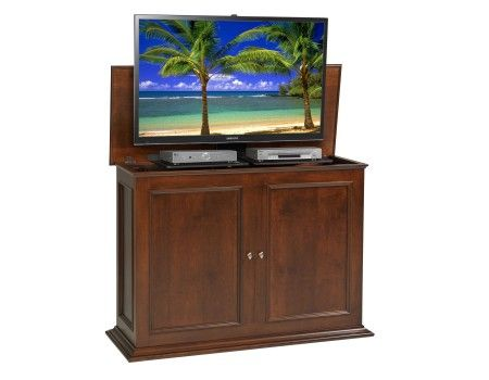 33 best images about oak mahogany and cherry tv lift. Black Bedroom Furniture Sets. Home Design Ideas