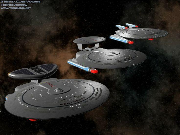 Variations Of Nebula Class Starship Starships