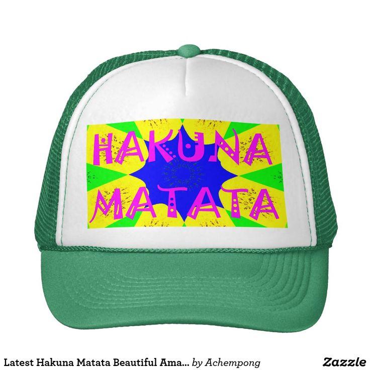 El último diseño asombroso hermoso Colo de Hakuna  #Regalos #Hakuna #Matata #Accesorios #Otros #productos