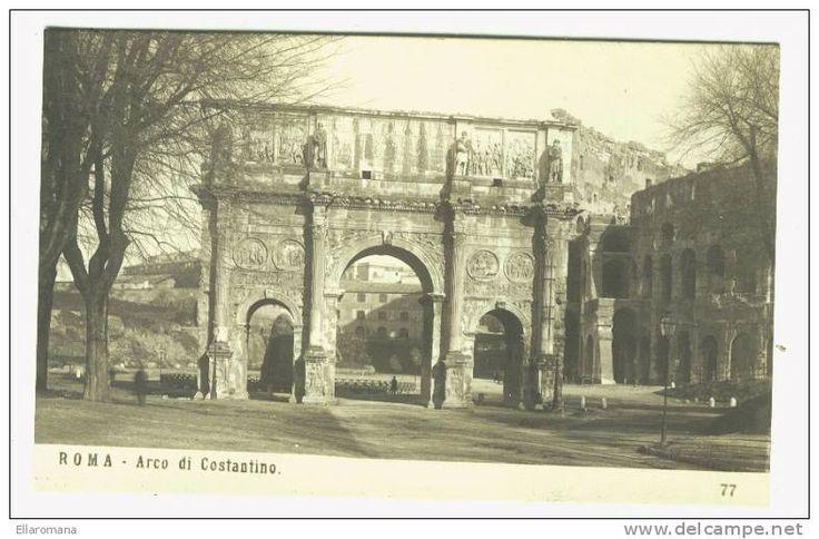 (B11-I) LAZIO -ROMA -ARCO DI COSTANTINO - VERA FOTO NPG - Roma