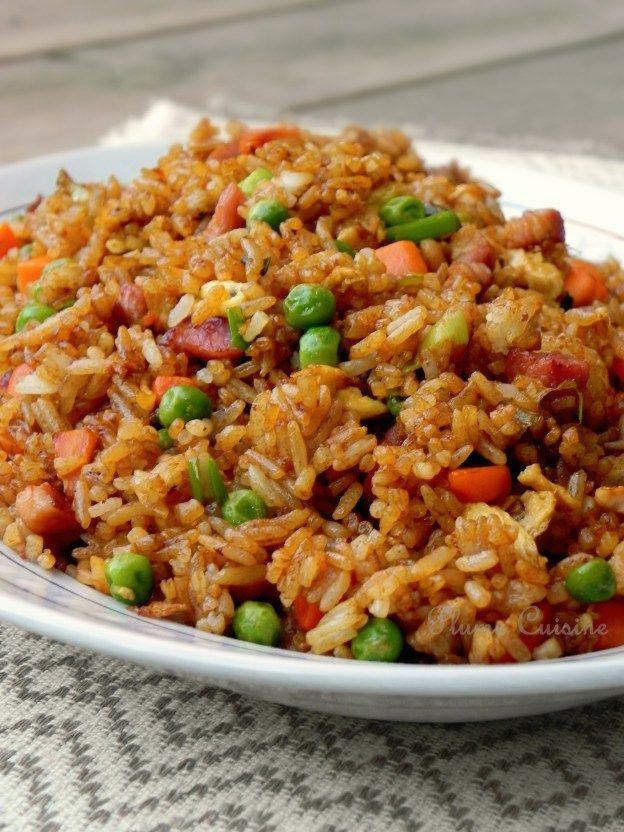 Riz chinois sans chinoiseries Le riz cantonnais, est l\u0027un des plus  grands classiques de la cuisine chinoise, mais aussi l\u0027un des plats les  plus appréci