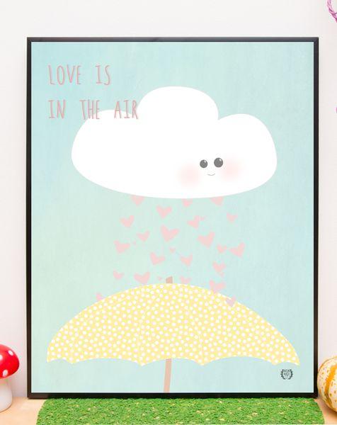 love is in the air w Mum made it na DaWanda.com