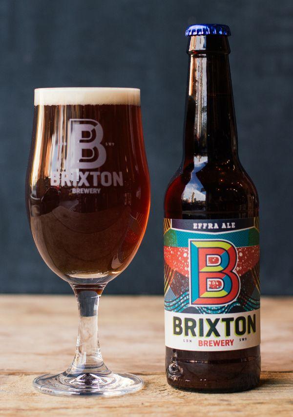 Brixton Brewery // Effra Ale 4.5% ABV. Hops: Northdown, Pilgrim, Aurora, Bobek, Ahtanum & Summit.