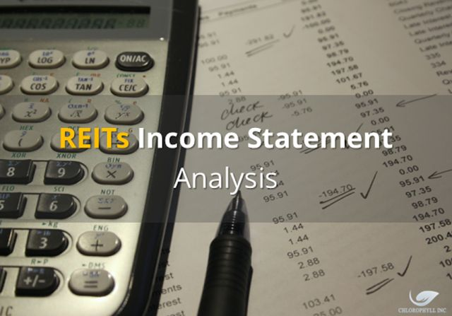 How To Read A REITs' Income Statement