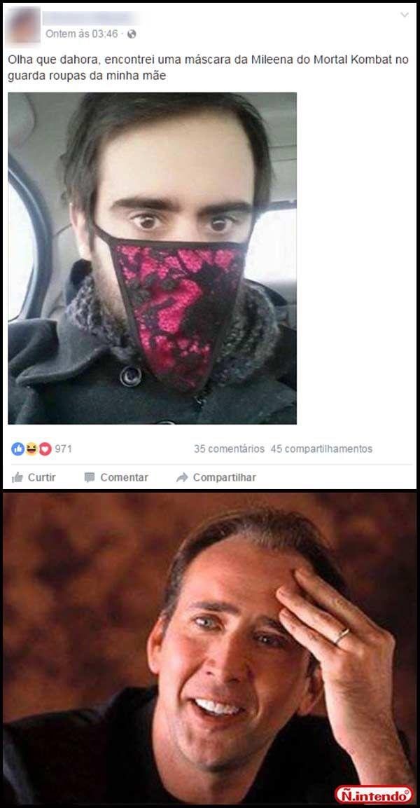 Mascara foda