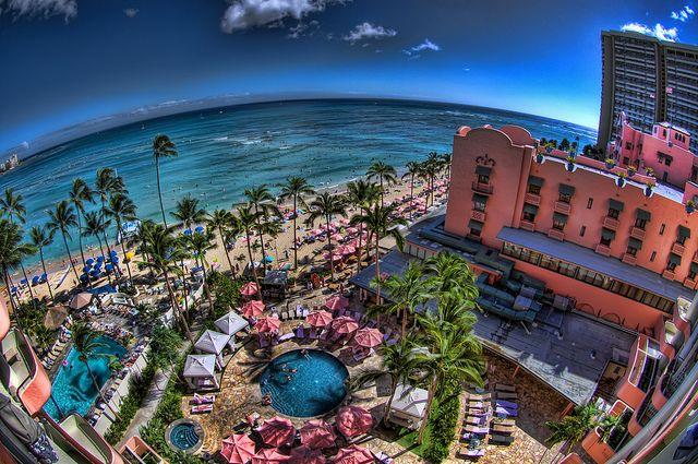 All-inclusive resorts in HawaiiRoyal Hawaiian Hotels, Colors Waikiki, Aloha Hawaii, Favorite Places, Beach View, Waikiki Beach, Amazing Places, Travel, Hawaiian Islands