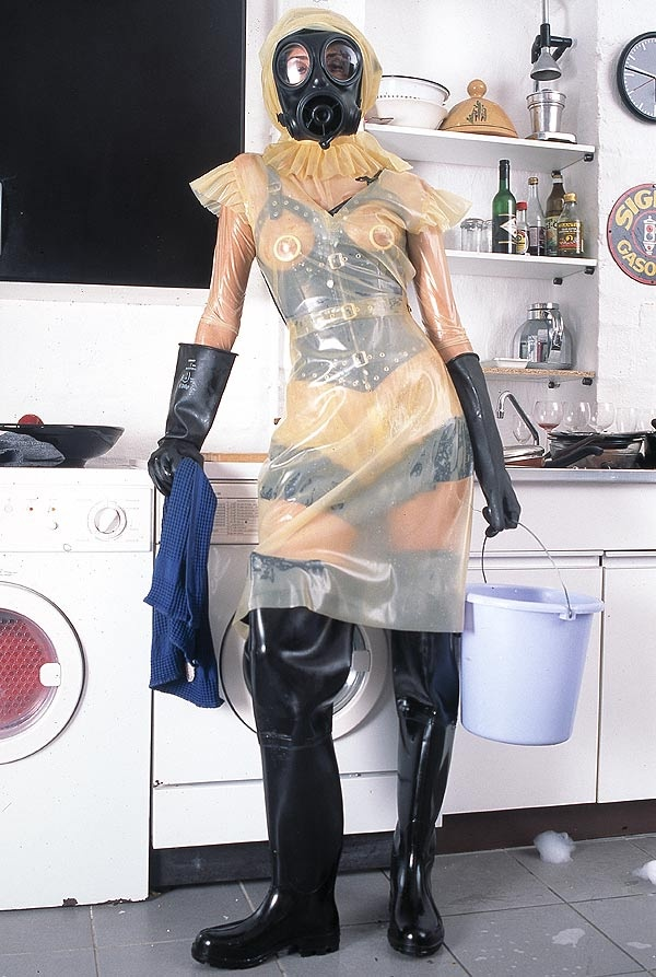 Love is..............doing the housework in the clothes you love to wear.