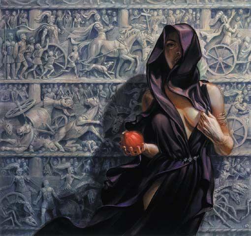 Todd Lockwood's Persephone.