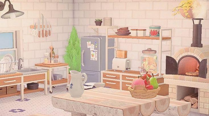 ☁︎⋆。˚ ⋆𝐦𝐨𝐫𝐢⋆。˚ ⋆☁︎ (@storybymori) in 2020 | Animal ... on Animal Crossing Ironwood Kitchen  id=20091