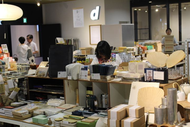 d47 Design Travel Store is a beautiful store to view and shop Japanese crafts and food from the 47 prefectures of Japan. The selection has been beautifully