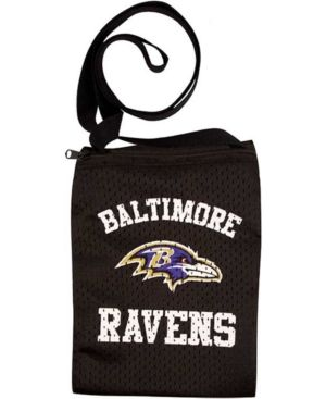 Little Earth Baltimore Ravens Game Day Pouch Bag - Team Color