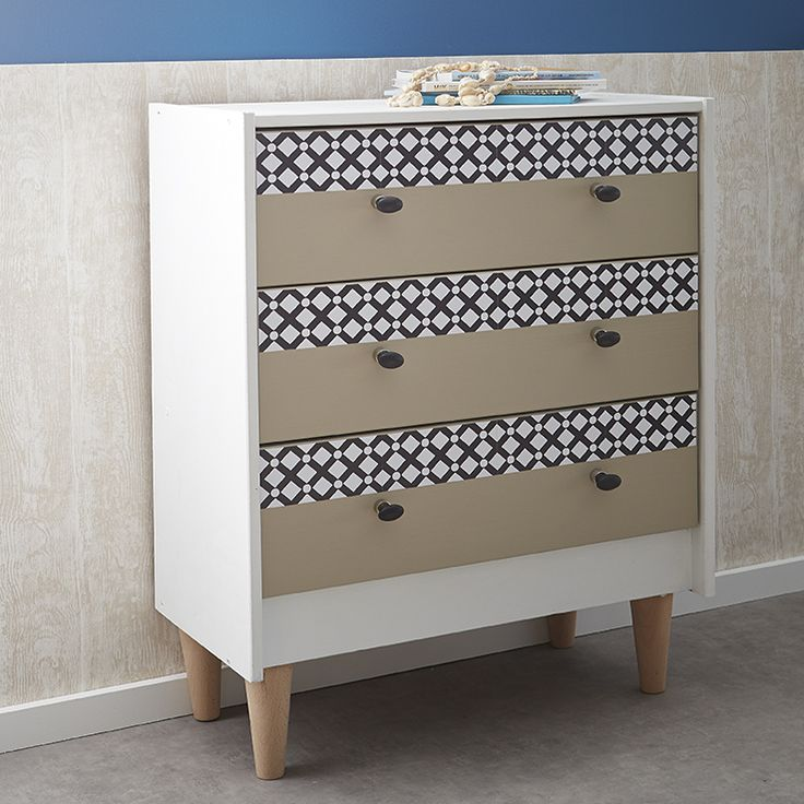 505 best on cr e images on pinterest index cards - Relooker une commode ...