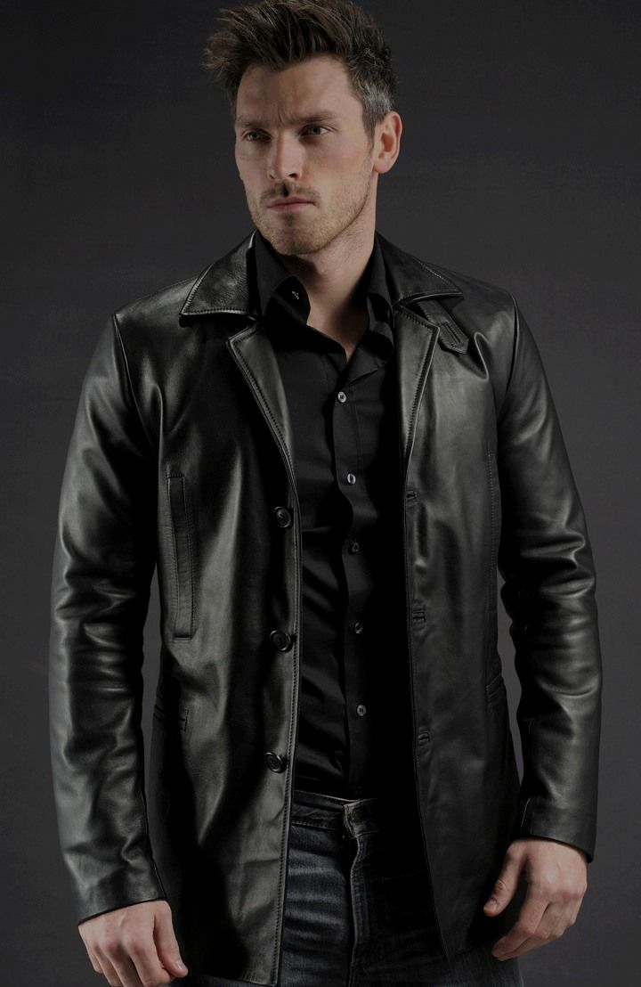 Mens Leather Jackets Are A Crucial Component To Jaket Kulit Pria David Black Each And Every Mans Set