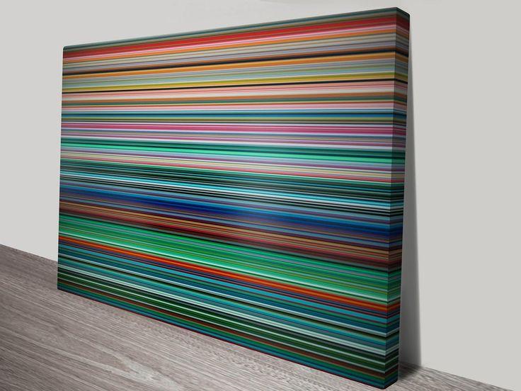 Stripes By Gerhard Richter