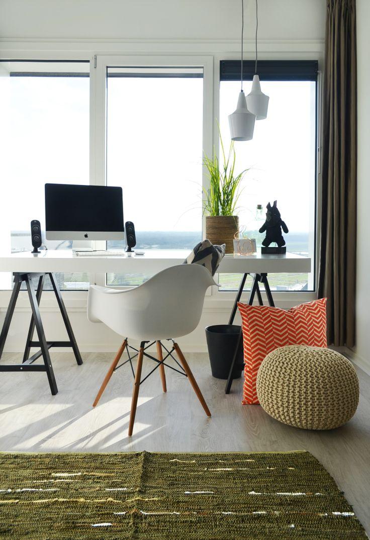 interieur trend 2014 grafische prints sierkussen werkplek