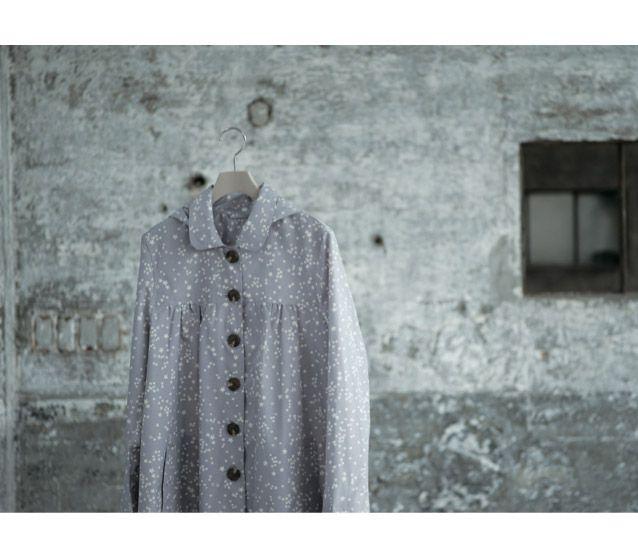 WPC Japan Ladies Raincoat in Gray Stars $48 at Mol&Bear