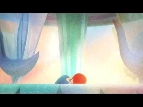 """A short film """"Un tour de manège""""  Watercolor + 3d"""