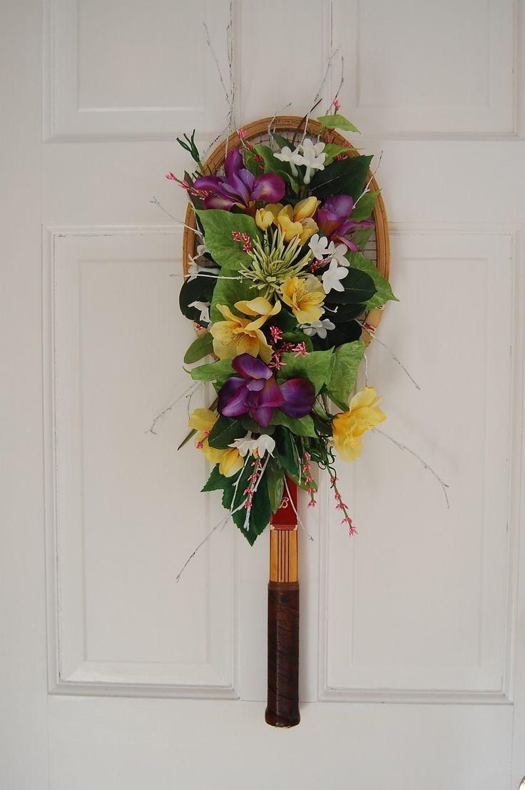 """tennis racquet """"wreath"""""""