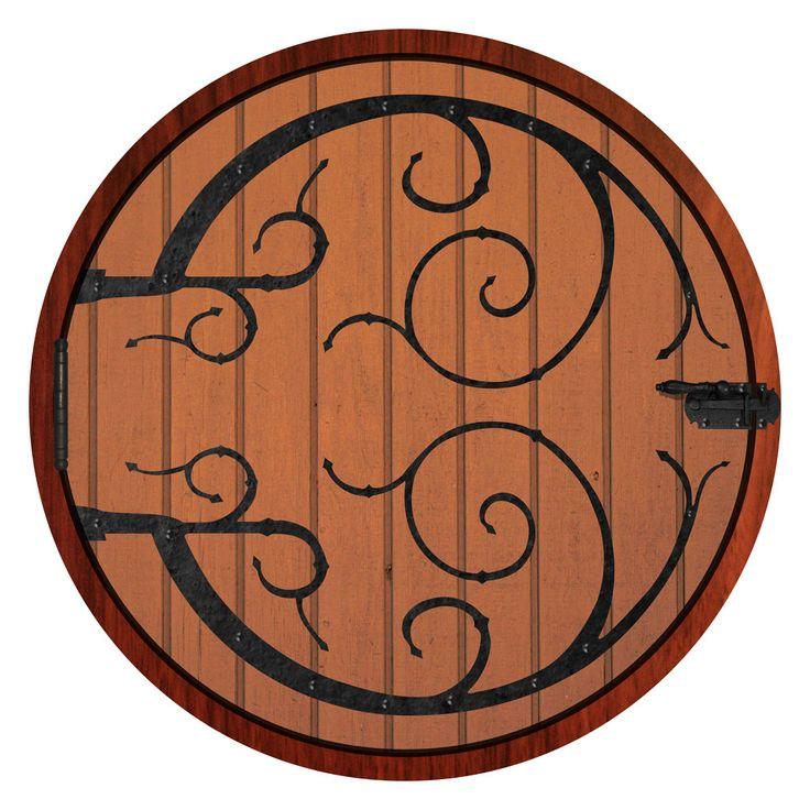 Life Size Hobbit Door Wall Decal 54 In X 54 In By