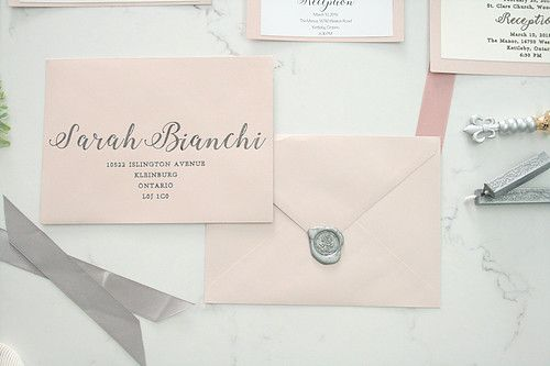 I don't know about you, but sealing wax on invites brings it to the top.