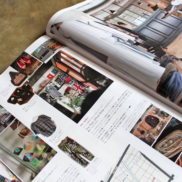 月刊 SAVVY誌(2015/10月号)と、先月にエルマガジン社から発売された『梅田本』に、The Post Office Shop が掲載されています。
