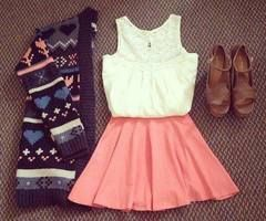 Schattige outfit