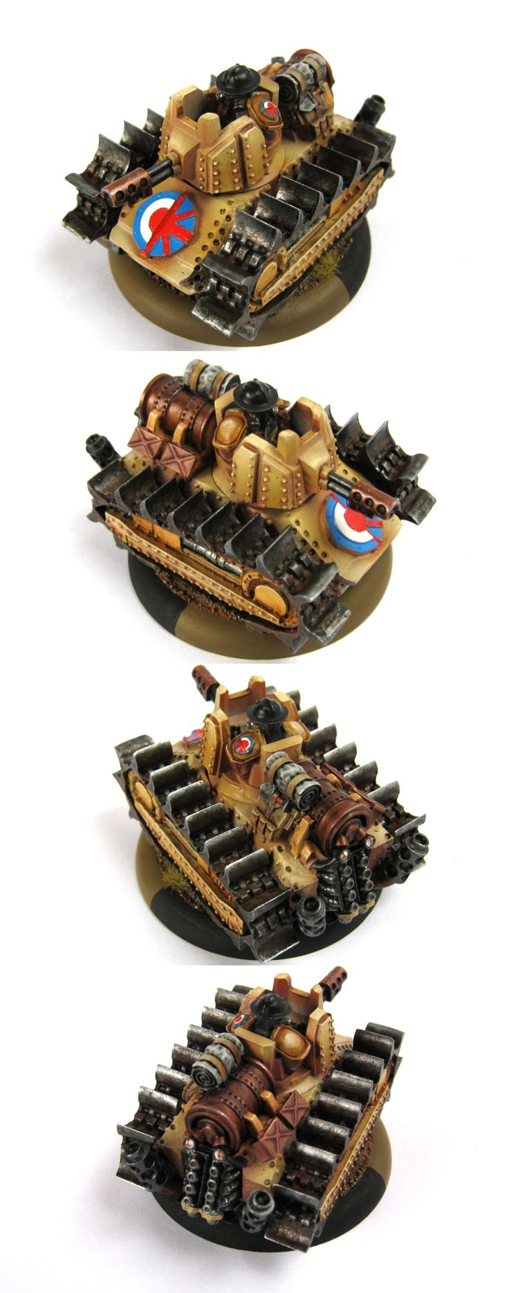 Warzone Resurrection Imperial Greyhound Tankette