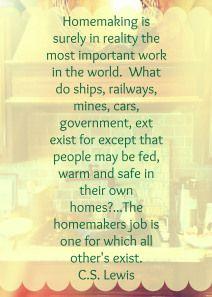 Homemaking quote