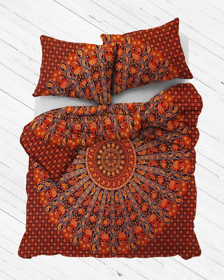 Desert Nights Mandala Duvet Cover Mandala duvet cover