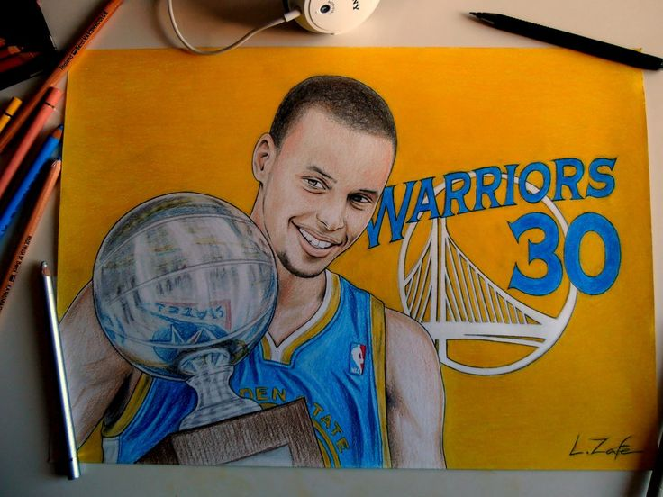 Stephen Curry Drawings