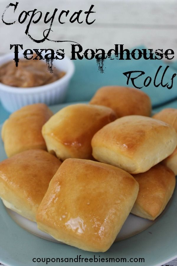 Copycat Texas Roadhouse Rolls! If you're in love with Texas Roadhouse rolls, check out this delicious, melt-in-your-mouth Copycat Texas Roadhouse Rolls recipe! Each batch makes 24 rolls!