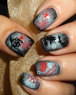 Wendy's Delights: Bewitched Water Decals from Sparkly Nails
