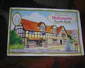 Englands Shakespeare Needle Book