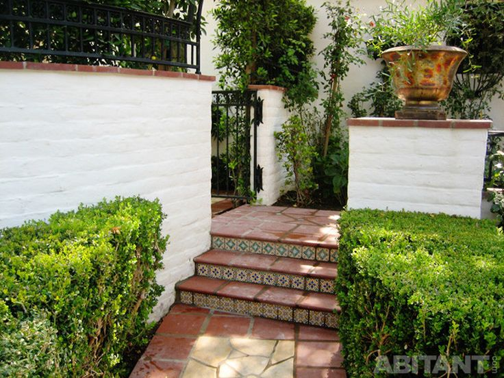 Миниатюрная садовая лестница