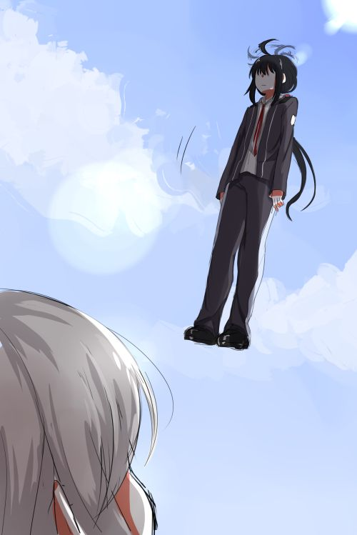 What the hell are you doing Namazuo?!