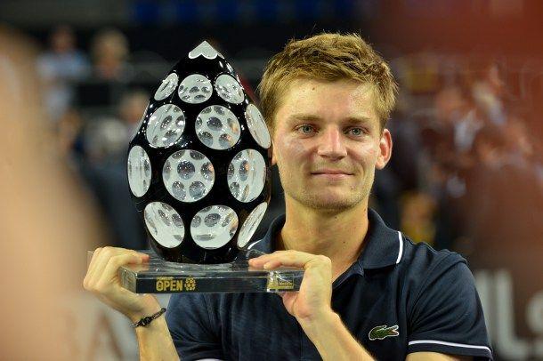 David Goffin (BEL), Winner of the 2014 ATP250 tennis tournament Moselle Open. #France #Lorraine #Moselle #Metz #tennis  #ATP #tournament #ATP250 #winner #player #enjoymoselle #trophy #saintlouis #crystal #Belgium - arnaudbriand@me.com 1580