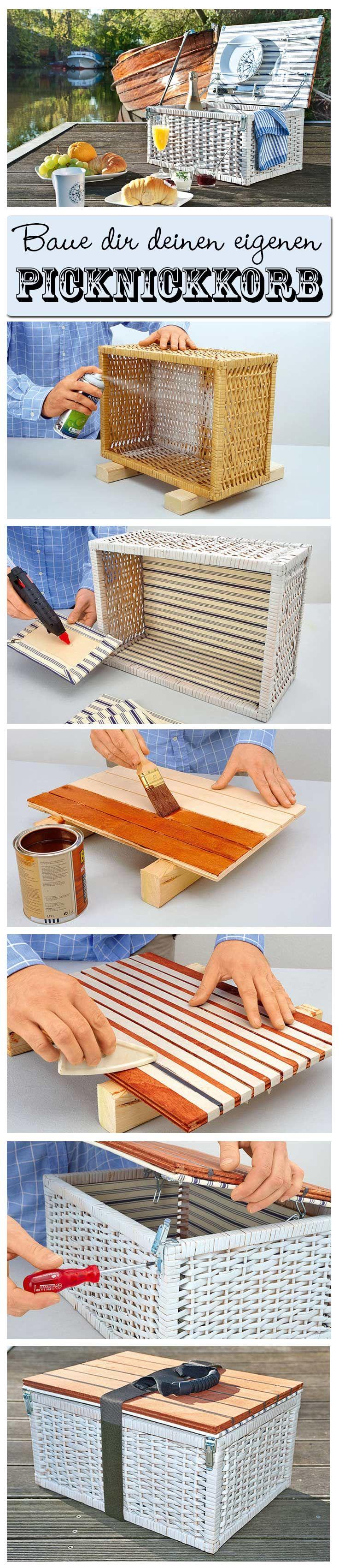 Wieso kaufen, wenn man einen Picknickkorb auch selbst machen kann? Wir zeigen im…