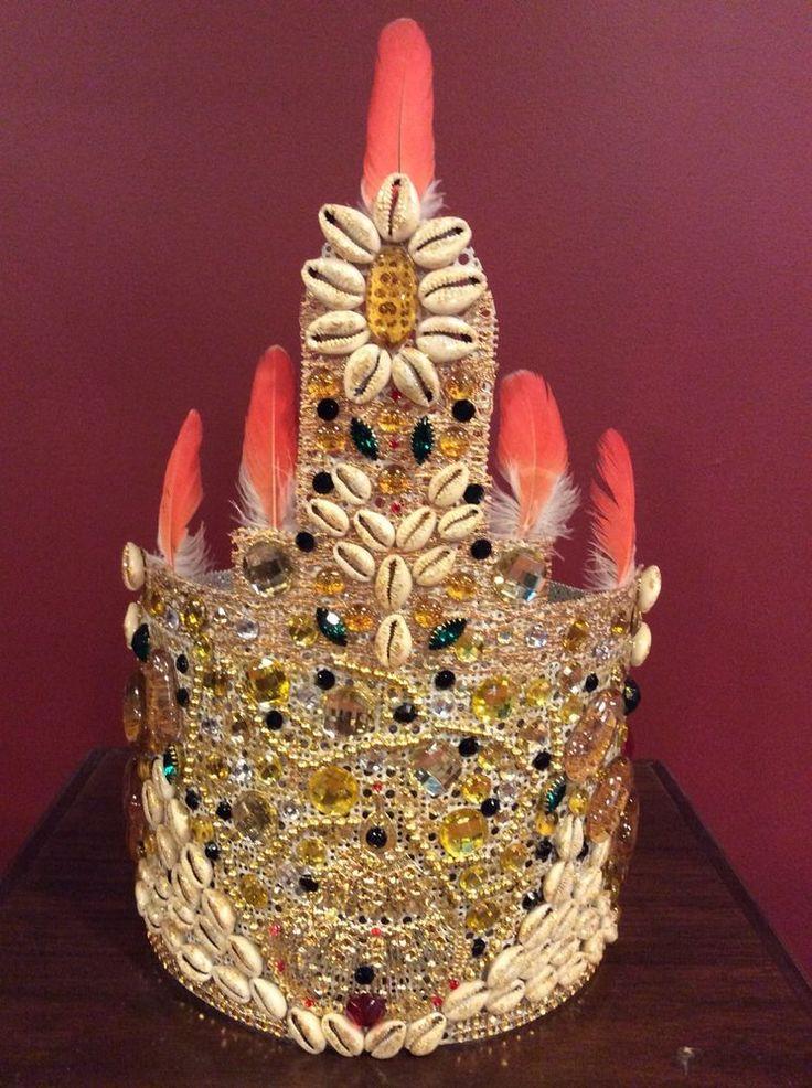 Corona De Ochun Ibu Kole. Oshun Ibu Kole Crown    eBay