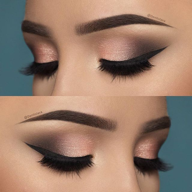 used: @thebalmeu Nude'Tude palette (shades: sultry,sleek and stand-offish) @anastasiabeverlyhills dipbrow pomade in medium brown @essence_cosmetics Liquid Ink Eyeliner